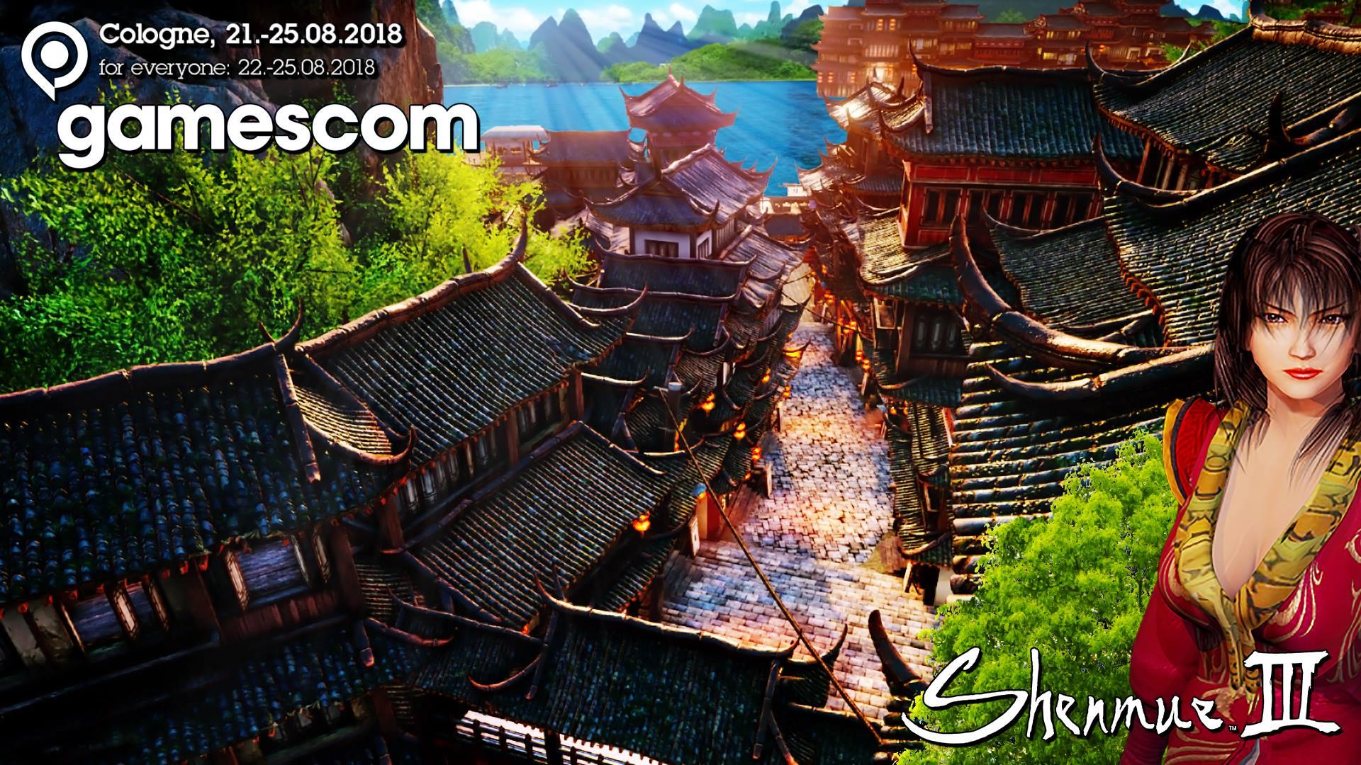 Shenmue 3 presente alla Gamescom?