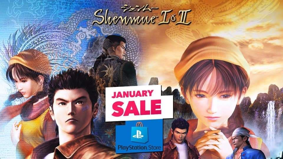 Shenmue 1&2 in sconto sul PlayStation Store!