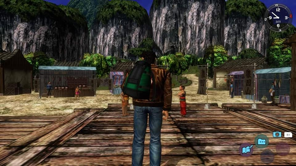 Shenmue & Red Dead Redemption 2: la filosofia alla base del concept di gioco