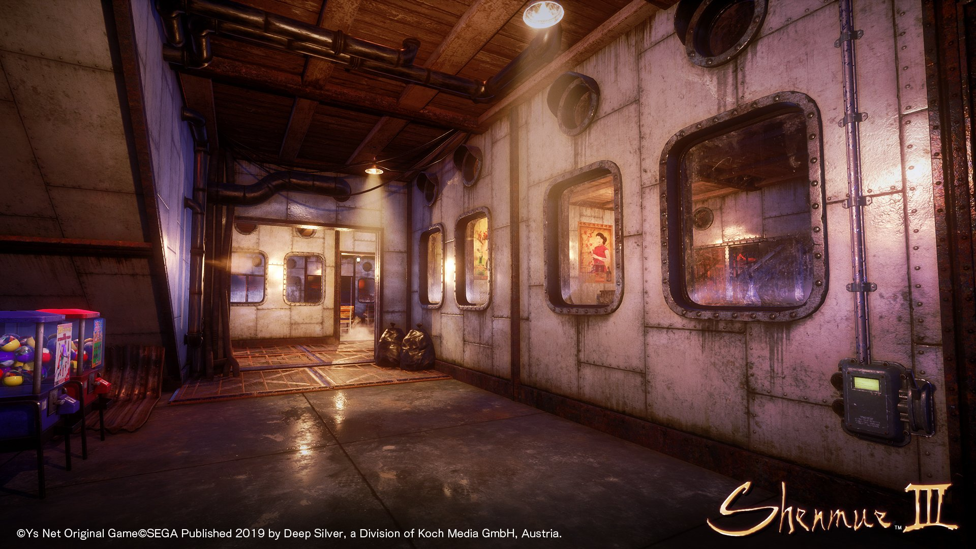 Shenmue 3: altri screenshot dalla pre-conference di Magic 2019