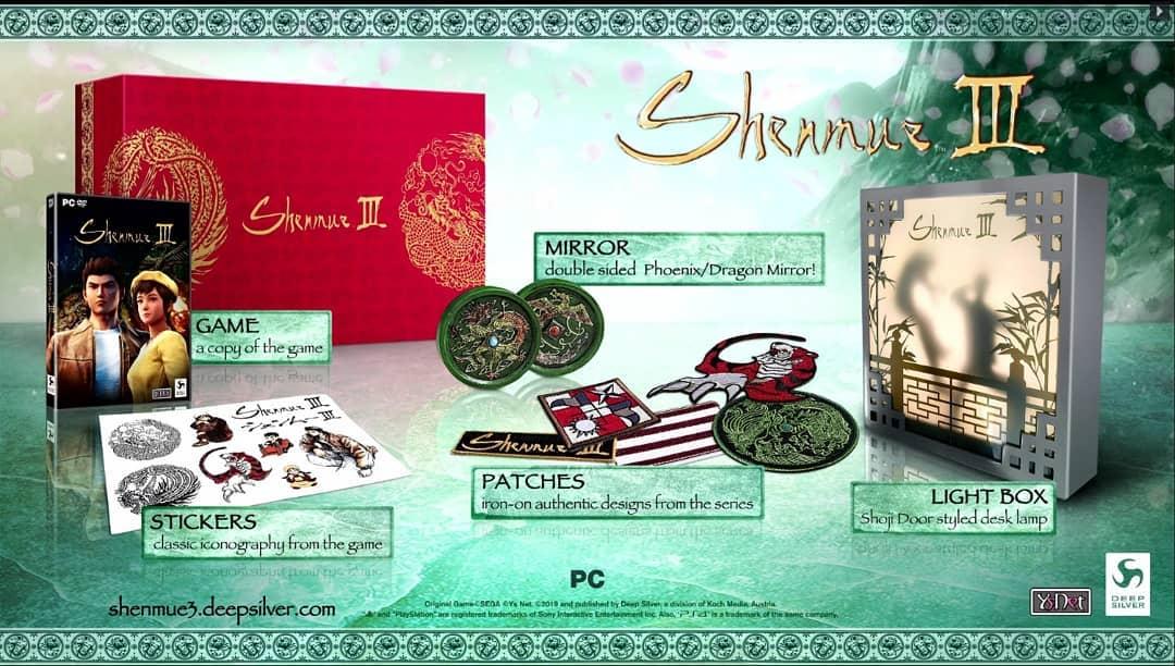 Shenmue 3 PC Edizione Limitata si mostra in tutto il suo splendore!