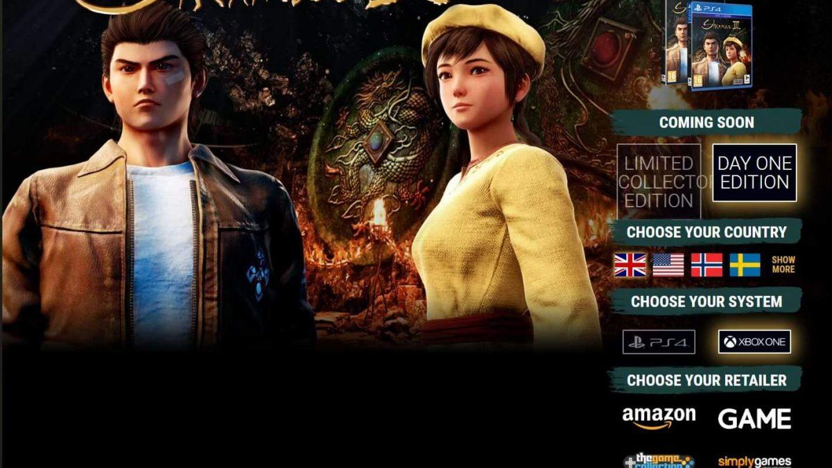 Shenmue 3 arriverà su Xbox One? [Aggiornata]