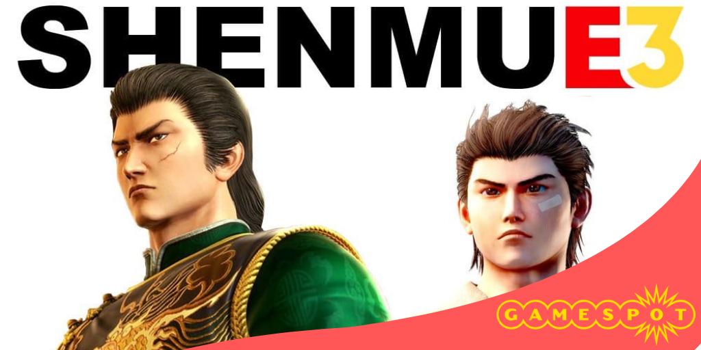 Gamespot annuncia uno speciale dedicato a Shenmue 3 nel suo coverage E3!