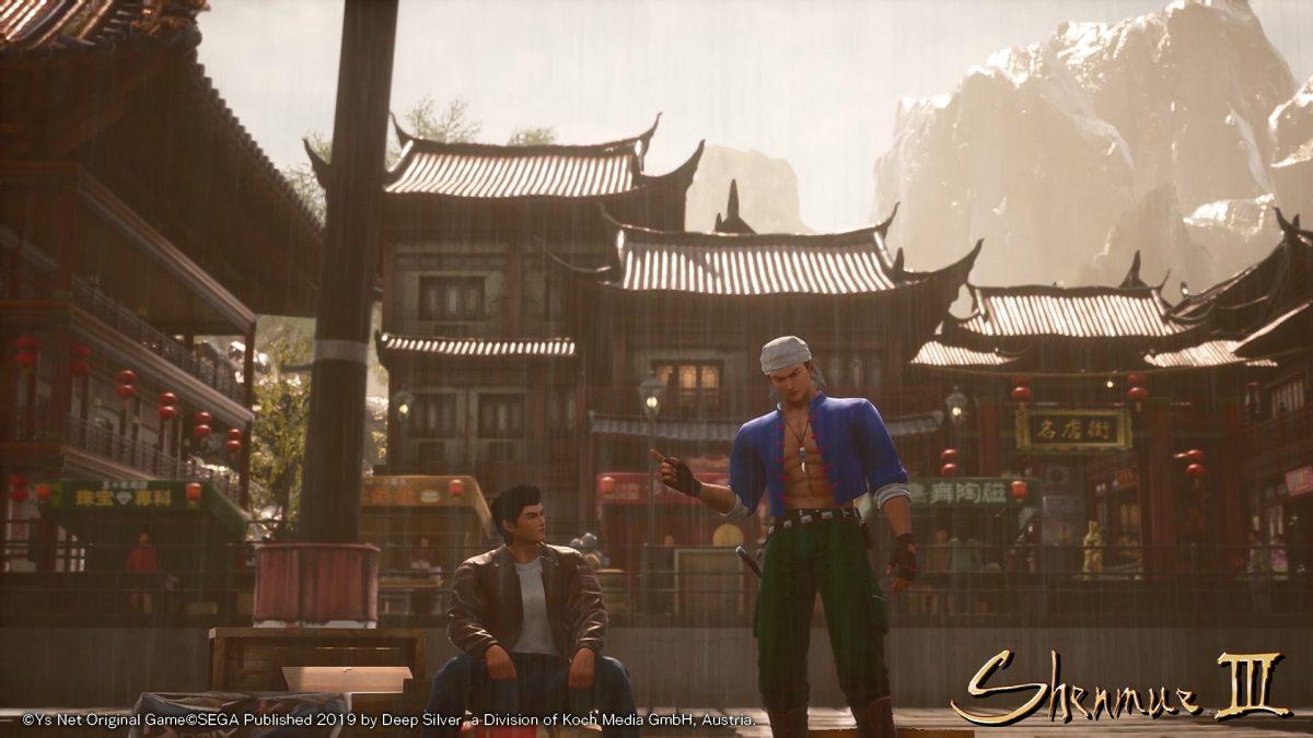 Shenmue 3 – Koch Media condivide nuovi screenshot