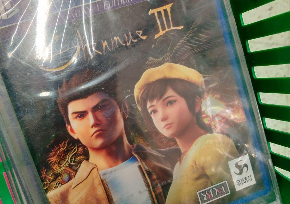 Shenmue 3: Day one Patch e Day one rotto in Finlandia