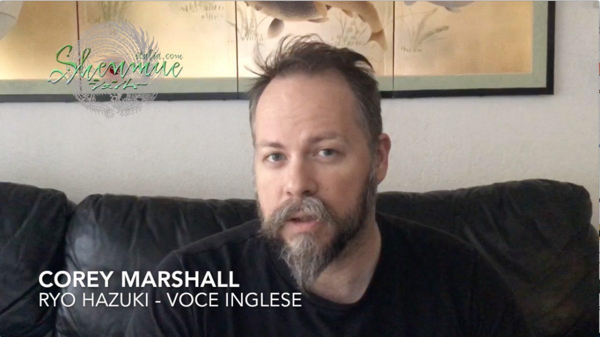 Un messaggio a tutti i fan italiani da parte di Corey Marshall