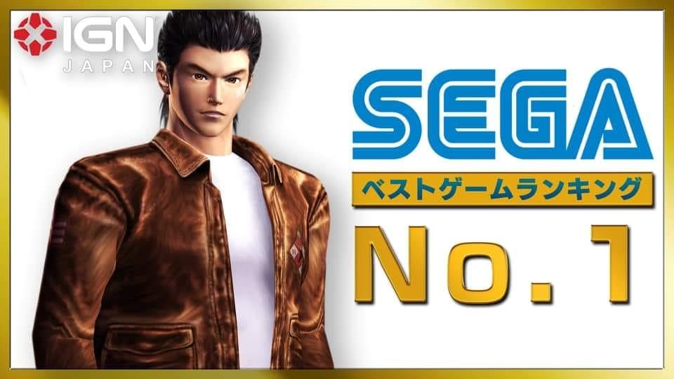 Shenmue votato come il miglior gioco SEGA di sempre su IGN Japan
